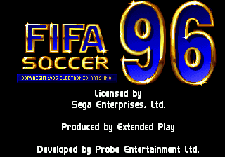 Обложка игры FIFA International Soccer 96
