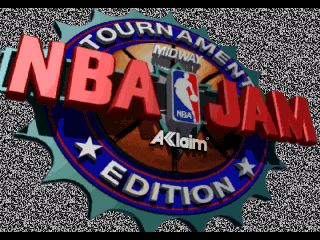 Обложка игры NBA Jam Tournament Edition (Sega 32x - 32x)
