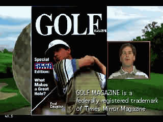Обложка игры 36 Great Holes Starring Fred Couples (Sega 32x - 32x)