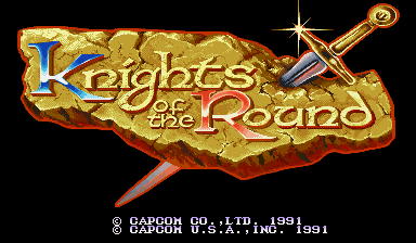 Обложка игры Knights of the Round (Capcom Play System 1 - cps1)