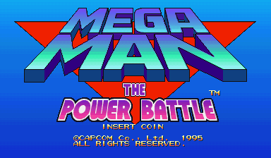 Обложка игры Mega Man - The Power Battle