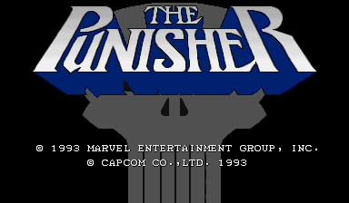 Обложка игры The Punisher ( - cps1)