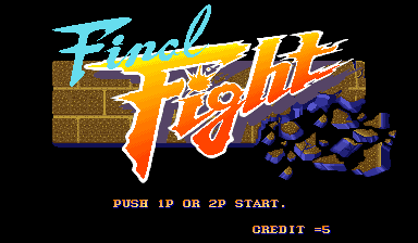 Обложка игры Final Fight (Capcom Play System 1 - cps1)