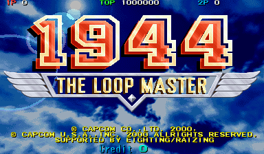 Обложка игры 1944: The Loop Master (Capcom Play System 2 - cps2)