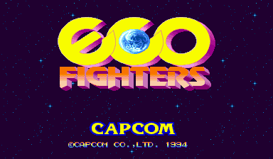 Обложка игры Eco Fighters (Capcom Play System 2 - cps2)