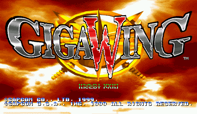 Игра Giga Wing (Capcom Play System 2 - cps2)