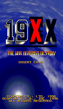 Обложка игры 19XX: The War Against Destiny
