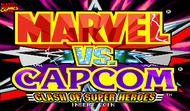 Обложка игры Marvel Vs. Capcom: Clash of Super Heroes