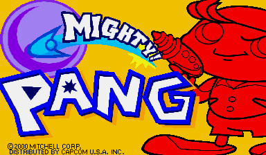 Игра Mighty! Pang (Capcom Play System 2 - cps2)