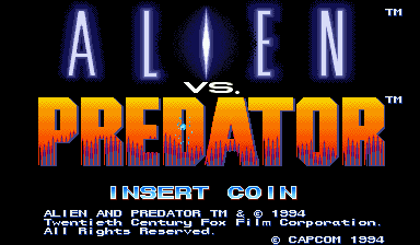 Игра Alien vs. Predator (Capcom Play System 2 - cps2)