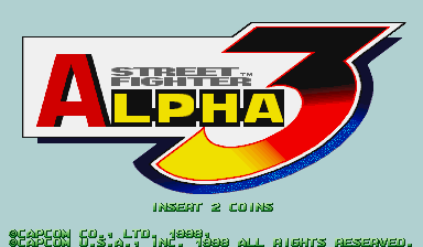 Обложка игры Street Fighter Alpha 3 (Capcom Play System 2 - cps2)