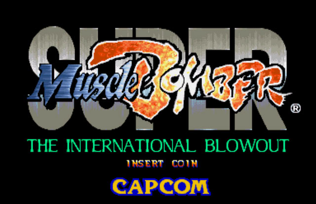 Обложка игры Super Muscle Bomber: The International Blowout (Capcom Play System 2 - cps2)