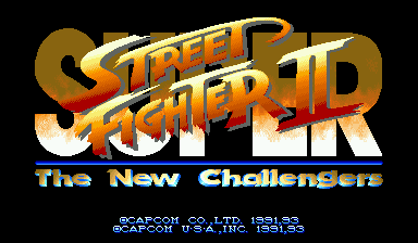 Обложка игры Super Street Fighter II: The New Challengers (Capcom Play System 2 - cps2)