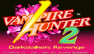 Обложка игры Vampire Hunter 2: Darkstalkers Revenge
