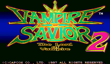 Обложка игры Vampire Savior 2: The Lord of Vampire