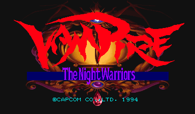 Обложка игры Vampire: The Night Warriors (Capcom Play System 2 - cps2)
