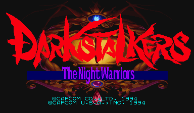 Обложка игры Darkstalkers: The Night Warriors