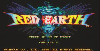 Игра Red Earth (Capcom Play System 3 - cps3)
