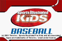 Обложка игры Sports Illustrated for Kids - Baseball