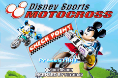 Обложка игры Disney Sports - Motocross