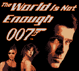 Обложка игры 007 - The World is Not Enough (GameBoy Color - gbc)