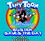 Обложка игры Tiny Toon Adventures - Buster Saves the Day
