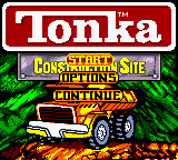 Обложка игры Tonka Construction Site