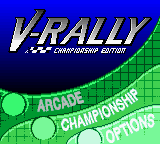 Игра V-Rally - Championship Edition (GameBoy Color - gbc)