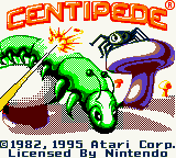 Обложка игры Centipede (GameBoy Color - gbc)
