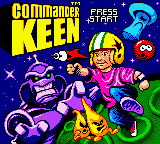 Обложка игры Commander Keen (GameBoy Color - gbc)