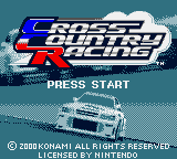 Обложка игры Cross Country Racing (GameBoy Color - gbc)