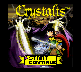 Обложка игры Crystalis (GameBoy Color - gbc)