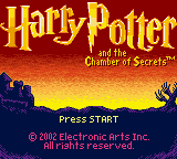 Обложка игры Harry Potter and The Chamber of Secrets (GameBoy Color - gbc)