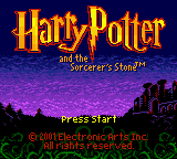 Обложка игры Harry Potter and The Sorcerer