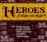 Обложка игры Heroes of Might and Magic (GameBoy Color - gbc)