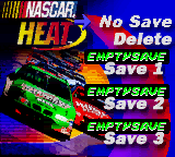 Игра NASCAR Heat (GameBoy Color - gbc)