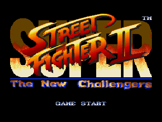 Обложка игры Super Street Fighter II - The New Challengers