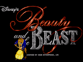 Игра Beauty and the Beast - Belle's Quest (Sega Mega Drive - gen)