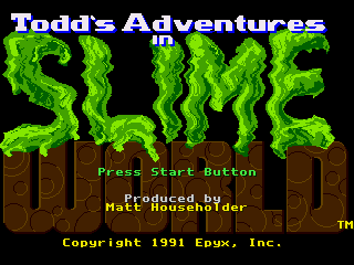 Обложка игры Todd's Adventures in Slime World