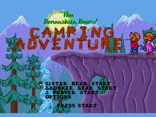 Обложка игры Berenstain Bears', The - Camping Adventure