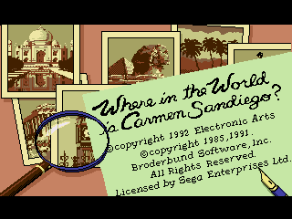 Обложка игры Where in the World is Carmen Sandiego