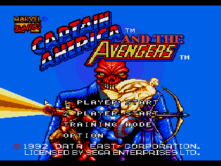 Обложка игры Captain America and the Avengers ( - gen)