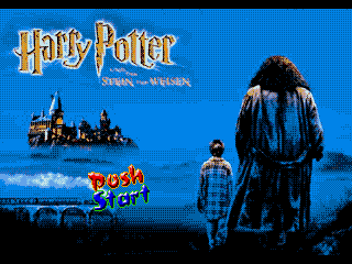 Обложка игры Harry Potter (Sega Mega Drive - gen)