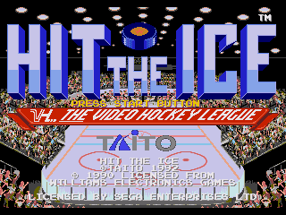 Обложка игры Hit The Ice (Sega Mega Drive - gen)