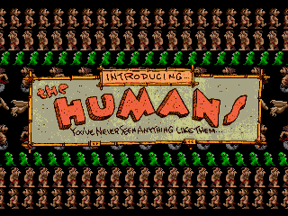 Обложка игры Humans, The (Sega Mega Drive - gen)