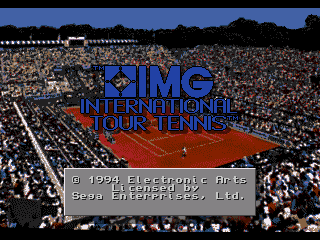 Обложка игры IMG International Tour Tennis ( - gen)