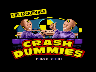 Обложка игры Incredible Crash Dummies, The ( - gen)