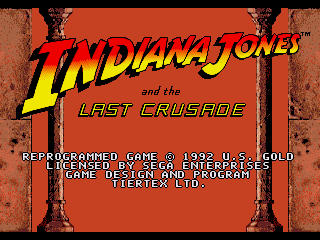 Обложка игры Indiana Jones and the Last Crusade ( - gen)