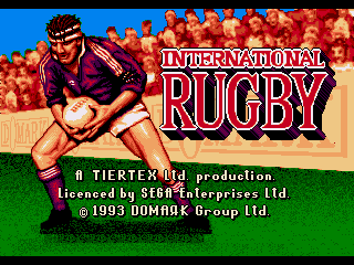 Обложка игры International Rugby ( - gen)