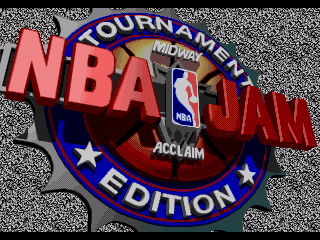 Обложка игры NBA Jam Tournament Edition ( - gen)